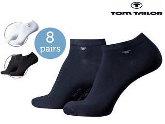 Tom Tailor Sneaker Socks | 8er-Pack