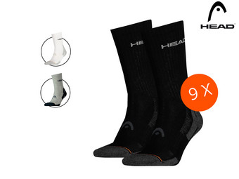 9x HEAD Performance-Socken | normal oder kurz