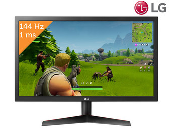 LG 24″ UltraGear Full HD Gaming TN Monitor | 24GL600F-B