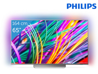 Philips 65″ 4K UHD Android TV met Driezijdig Ambilight | 65PUS8303