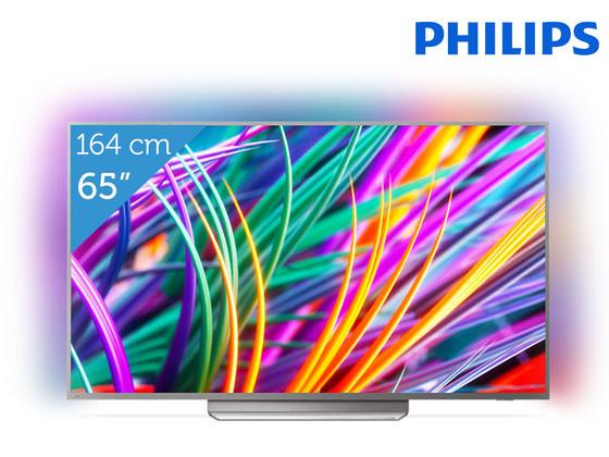 Philips 65 4K UHD Android TV met Driezijdig Ambilight | 65PUS8303