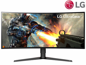 "LG 34"" UltraGear QHD Gaming Monitor"