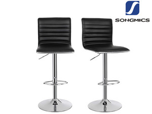 2x Songmics Barhocker (360°)