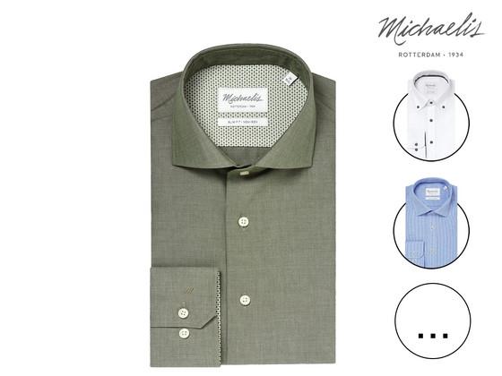Michaelis Katoenen Overhemd | Non Iron