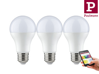 3x Paulmann Smart Home Verlichting | E27 | RGBW of Tunable White