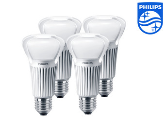 internet 39 s best online offer daily 4 pack philips dimbare led lampen 75w warm wit. Black Bedroom Furniture Sets. Home Design Ideas