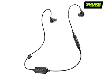Shure SE112 Bluetooth Oordopjes | Passive Noise Cancellation 37 dB