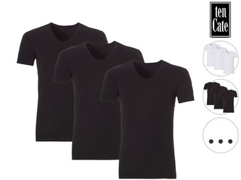 3x Ten Cate Bamboo T-Shirt | Crew of V-Neck