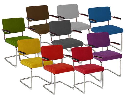 Eetkamerstoel rib met armleuning internet 39 s best online for Bauhaus design stoelen