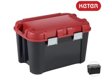 4x Keter Totem Opbergbox | 60 L