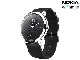 Nokia Withings Steel HR Hybrid Smartwatch | 40 mm