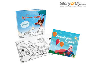 2x Voucher Story of my Name – Gepersonaliseerd Kinderboek