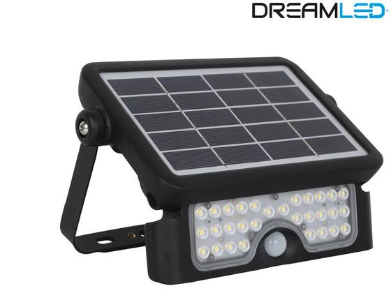 DreamLED Solar Schijnwerper | Bewegingsdetectie | 500 lm | SPL-500