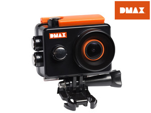 DMAX 1080p Full HD Action-Kamera mit WLAN