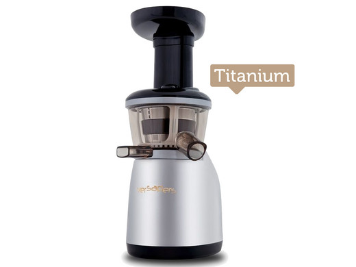 versapers Emotion 2G Slowjuicer meer vitamines en vezels Titanium - Internet s Best Online ...
