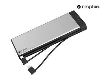 2x Mophie Encore Plus Powerbank | 20.000 mAh | Micro-USB + Lightning