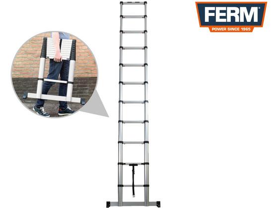 Ferm Telescopische Ladder | 3,2 m