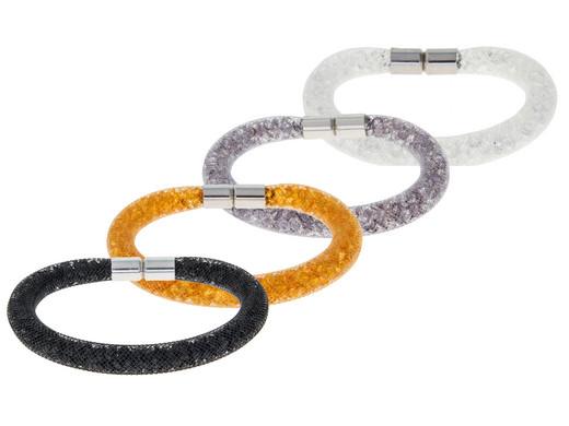 Plafonniere Met Kristallen : Destellos by swarovski raster armband met kristallen internet s