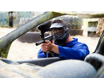 The Events Bakery Paintball of Airsoft | 4 Personen