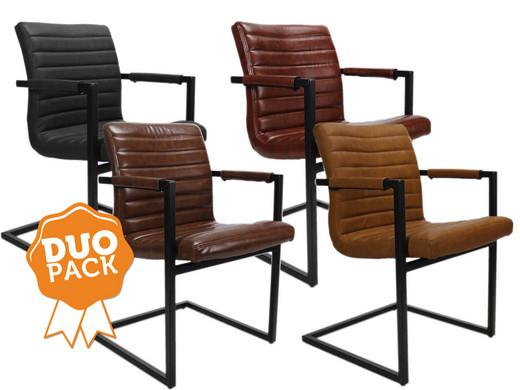 Stoel Metalen Frame : Bruut robuuste stoelen duopack internet s best online offer