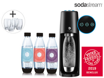 SodaStream Spirit One Touch | Elektrisch Bruiswatertoestel