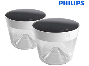 2x Philips Solar Tafellamp