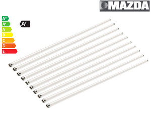 10x Mazda by Philips LED Tube | 120 cm