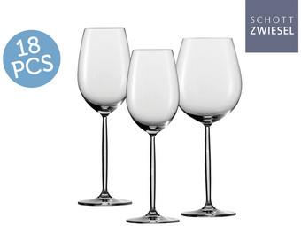 Schott Zwiesel Diva 18-delige Wijnglazenset