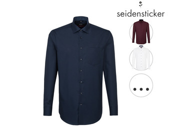 Seidensticker Patch12 Overhemd | New Kent | Modern Fit of Slim Fit