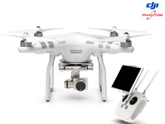 DJI Phantom 3 Advanced drone met 2.7K-camera en gi