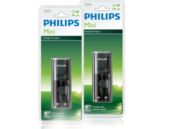 Philips Batterijladers - Duopack