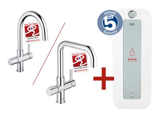 Kokend Water Kraan.Grohe Red Duo Kokendwaterkraan Met 8 L Boiler Internet S Best