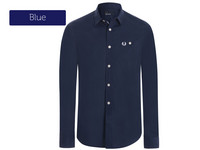 Fred Perry Dress Shirt Blue M