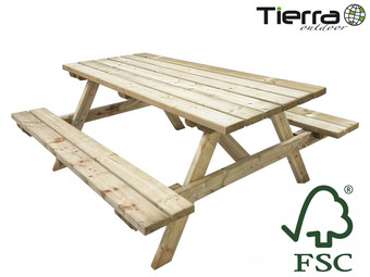 Tierra Outdoor Picknicktafel