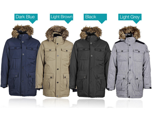 Tenson Higgins mens hooded winter jacket - Internet s Best Online Offer  Daily - iBOOD.com 311b0aebcc