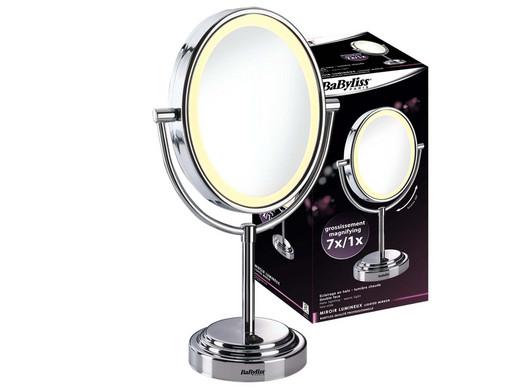 Babyliss 8437e vergrotende spiegel met verlichting for Vergrotende spiegel