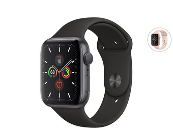 Apple Watch Series 5 | 40 mm | Always-On-Retina-display | GPS Only