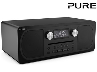 Pure Evoke C-D6 DAB+-Radio mit Bluetooth | Stereo-All-in-One-Musiksystem