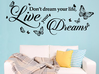 Muursticker | Dream Quote