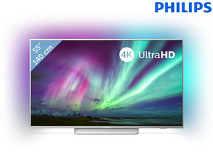 "Philips Ambilight 4K UHD 55"" TV"