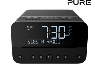 Radio z budzikiem Pure Siesta Home DAB+ | BT/CD