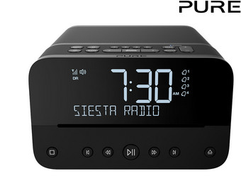 Pure Siesta Home Wekkerradio | DAB+ | BT/CD