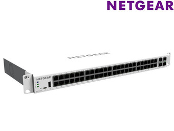 Netgear GC752X Cloud Managed Switch | 48-Poorts +  2 SFP 1G + 2 SFP+ 10G Glasvezel Poorten
