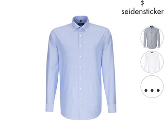 Seidensticker Business Oxford Herrenhemd | Regular/Slim Fit