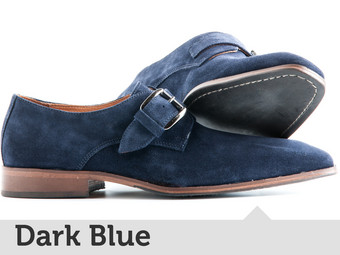 Travelin' Stansted | Enkele Gesp Dark Blue 45