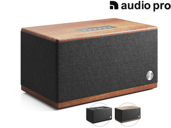 Audio Pro BT5 Bluetooth Speaker | Walnut