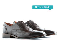 City (leer) Brown Dark
