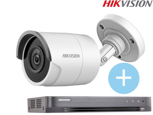 Bullet Camera + 8-kanaals DVR Recorder
