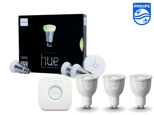 Philips Hue Lampen Gu10.Philips Hue Startpakket E27 Of Gu10 Internet S Best Online Offer