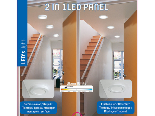Free Led W With Action Plafonniere